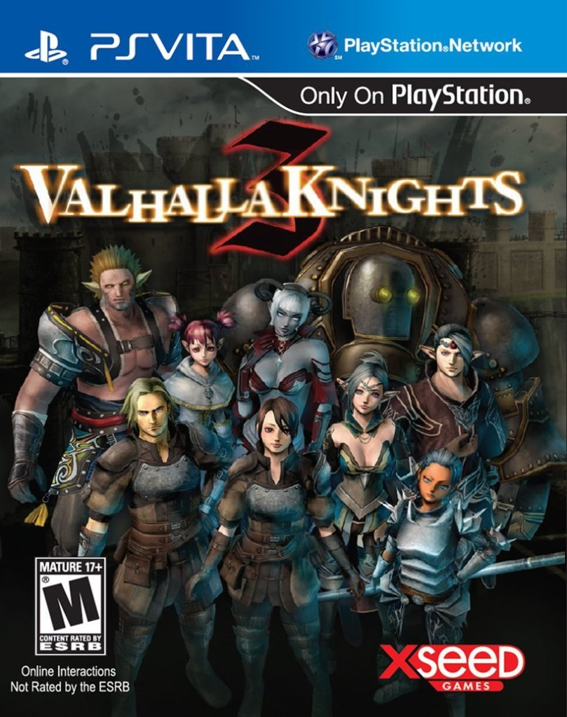 Valhalla Knights 3 cover